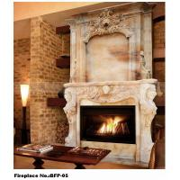 Buy cheap Ancient Cultured Marble Fireplace from wholesalers