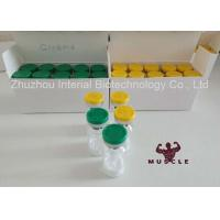 Buy cheap GHRP-6 Protein Peptide Hormones 99% Purity 5mg 10mg Vials Freeze Dried White Powder from wholesalers