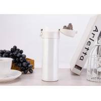 Buy cheap FDA Certificated Spill Proof Travel Coffee Mugs That Keep Coffee Hot / Pearl White Color from wholesalers
