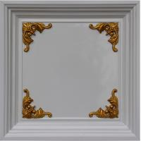 Buy cheap Fireproof Drop Ceiling Tiles European Style Wallpaper Home Wall Decoration Material from wholesalers