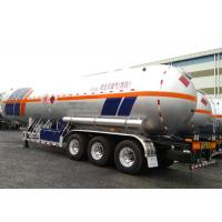 Buy cheap 61000L LPG Tank Trailer With 3 Axles , Petroleum Gas Lorry Semi Trailer from wholesalers