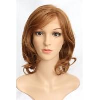 Buy cheap Short Human Hair Front Lace Wigs For Black Women , Braided Full Lace Wigs from wholesalers