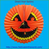 Buy cheap Halloween Crafts with Paper Decorative Lanterns from wholesalers