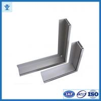 Buy cheap Powder blasting 6063-T5 / T6 extruded aluminum framing for table edge from wholesalers