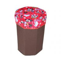 Buy cheap Customized cute cartoon pattern red storage box bag for colleting toys from wholesalers