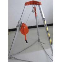 Buy cheap strong quality rescue tripod with hand winch for confined space from wholesalers