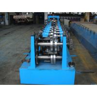 Buy cheap C Z Purlin Interchangeable Steel Rolling Machine / Metal Roll Forming Machine In Warehouse Building from wholesalers
