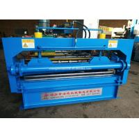 Buy cheap Metal Steel Sheet Straightening Machine , Slitting And Cutting Equipment from wholesalers