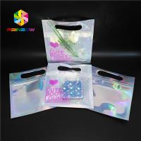 Buy cheap Bikini Garments Plastic Pouch Packaging Hologram 3d Material Stand Up Bag With Zipper from wholesalers