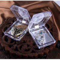 Buy cheap Delicate Durable Acrylic Jewelry Display Case Recycyled With Cast Acrylic from wholesalers
