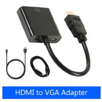 Buy cheap 1080P HDMI To VGA Adapter Smart Consumer Electronics Male To Female Converter Digital Analog Video from wholesalers