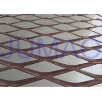 Buy cheap Perforated Strong Architectural Expanded Metal Flattened With Diamond Holes product