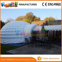 Buy cheap PVC tarpaulin Dome Inflatable Igloo Tent For Camping with Hand printing from wholesalers