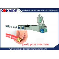 Buy cheap High Speed PE Pipe Production Line / Cross Linked PE-Xb Pipe Making Machine from wholesalers