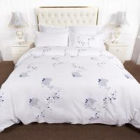 Buy cheap Woven Bed Linen Hotel Bedding Sets Cotton Single Queen Printed 100% Cotton from wholesalers