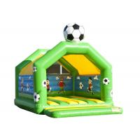 Buy cheap Football Inflatable Toddler Jump House , Sports Games Inside Bounce House product