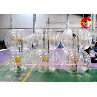 Buy cheap Fashion Inflatable Bumper Ball , Waterproof Playing Body Bumper Ball from wholesalers