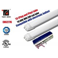 Buy cheap G13 Led T 8 Fluorescent Tube Replacements , 1200mm Led Fluorescent Light Fittings from wholesalers