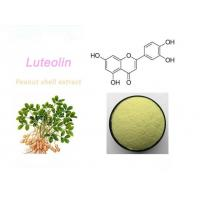 Buy cheap High Purity 98% Peanut Shell Extract Natural Luteolin CAS:491-70-3 from wholesalers