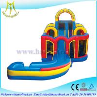 Buy cheap Hansel 2017 hot selling commercial PVC outdoor inflatable water slides for rent slide from wholesalers
