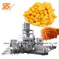 Buy cheap Stable Automatic Chips Making Machine Corn Stick Extruder Easier To Clean from wholesalers