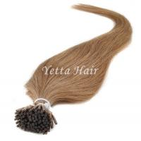 Buy cheap Full Cuticle Double Drawn Pre Bonded Hair Extensions No Foul Odor from wholesalers