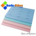 Buy cheap Large shower mat bathroom EVA mat Anti-slip , water-proof 85*60cm from wholesalers