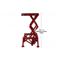 Buy cheap Small Hydraulic 30kg Stationary Lift Platform For Lifting Motorcycles from wholesalers