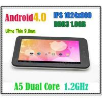 Buy cheap Cortex A5 Dual Core CPU 1.2GHz Android 4.0 Tablet PC 7 Inch HD IPS Screen 1GB RAM from wholesalers