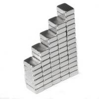 Buy cheap sintered ndfeb powerful permanent neodymium block magnet 6x5x2mm Ndfeb block magnet of N52 from wholesalers