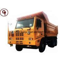 Buy cheap Unilateral Cab Mining Massive Dump Truck Blue / Yellow / Red / Green Color Available from wholesalers
