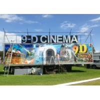 Buy cheap Safe Special Mobile 9D XD Theatre With Sunproof And Waterproof Truck product