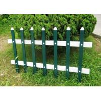 Buy cheap Garden Grass Lawn Zinc Steel Fence Protection For City Roadsides from wholesalers