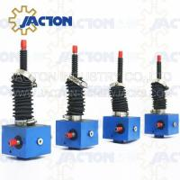 Buy cheap worm electric transmission gearbox jack with jwss worm gear linear actuator adjustable swl spiral elevator reducer from wholesalers