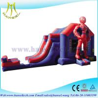 Buy cheap Hansel perfect inflatable spider man bouncy castle with slide combo from wholesalers