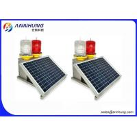 Buy cheap PC Material Aviation LED Lights With 10 Years Service Life Solar Panel from wholesalers
