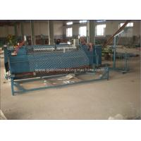 Buy cheap Airport / Highway Chain Link Fence Machine Fully Automatic With Hanging Control Panel from wholesalers