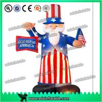 Buy cheap 3m Inflatable Uncle Tom,Christmas Event Decoration,Advertising Inflatable Cartoon from wholesalers