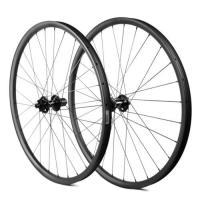27.5er Carbon Fiber Racing Wheels , T800 35mm Disc Brake DH Downhill Mtb Rims