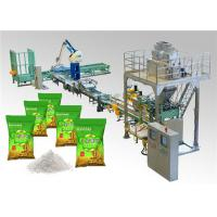 Buy cheap PLC Control Automatic Bag Packing Machine for Washing Powder Open Mouth Bag from wholesalers