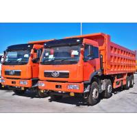 Buy cheap 12 wheels 8x4 dump truck, 12 wheeler tipper truck, 30-40 tons Earthmoving transport truck from wholesalers