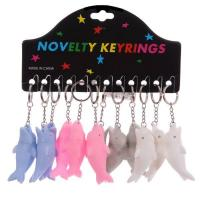 Buy cheap Squeaky Mini Dolphin Key Chain Rings from wholesalers