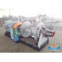 Buy cheap Double Drum Diesel Engine Powered Winch , Hydraulic Mooring Winch For Heavy Lifting from wholesalers