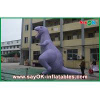 Buy cheap Custom Animal Dinosaur Inflatable Cartoon Characters Model / Figure /  For Advertisement from wholesalers
