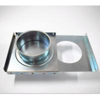 Buy cheap Custom Precision Ac Zone Dampers , Adjustable Blast Gate Air Conditioning Duct Dampers from wholesalers