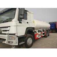 Buy cheap White Stainless Steel Water Transport Truck RHD 266HP Horse Power 80R22.5 Tire from wholesalers