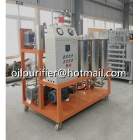 Buy cheap Phasphate Ester Fire-resistant Fluids Oil Purifier, Hydraulic Oil Purification Unit from wholesalers