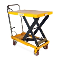 Buy cheap 1260MM 2000lb Movable Mobile Compact Hydraulic Scissor Lift Table from wholesalers