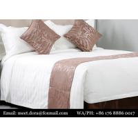 Buy cheap Luxury Hotel 5 Star Bed Linen 100% Cotton Sheet Quilted Double Duck Goose Down Duvet Set from wholesalers