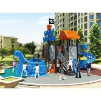 China New Plastic Children Outdoor Playground Kids Toy Pirate Ship Series on sale